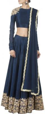Fabron Embroidered Women's Lehenga, Choli and Dupatta Set
