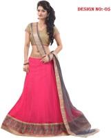 Sp Fashion Chaniya, Ghagra Cholis - SP Fashion Embroidered Women's Lehenga, Choli and Dupatta Set(Stitched)