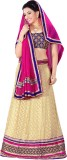 Aastha Sarees Self Design Women's Leheng...