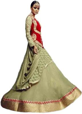 Manjaree Embroidered Women's Lehenga, Choli and Dupatta Set