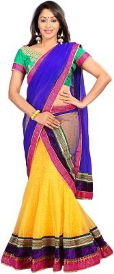 Silkbazar Self Design Women's Lehenga, Choli and Dupatta Set