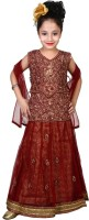 Elite Class Chaniya, Ghagra Cholis - Elite Class Embroidered Women's Lehenga, Choli and Dupatta Set(Stitched)