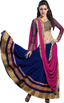 FashionSurat Self Design Women's Ghagra, Choli, Dupatta Set