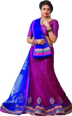 Fashion Birds Self Design Women's Lehenga Choli