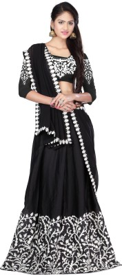 Shringaarr Retail Embroidered Women's Lehenga, Choli and Dupatta Set
