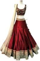 Cartyshop Chaniya, Ghagra Cholis - cartyshop Embellished Women's Lehenga Choli(Stitched)