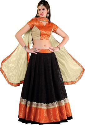 Hitansh Fashion Embroidered Women's Lehenga, Choli and Dupatta Set