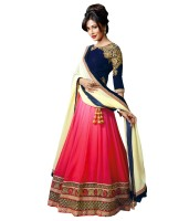 Gamthi Ethics Chaniya, Ghagra Cholis - Gamthi Ethics Embroidered Women's Lehenga, Choli and Dupatta Set(Stitched)