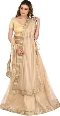 Kajal New Collection Solid Women's Lehenga, Choli and Dupatta Set