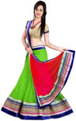 Kavita Fashion Embroidered Women's Lehenga, Choli and Dupatta Set(Stitched) at flipkart