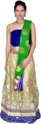 Tehzeeb Self Design Women,s Lehenga, Choli and Dupatta Set