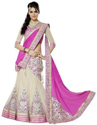 Cozer Embroidered Women's Ghagra, Choli, Dupatta Set