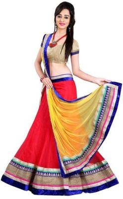F3 Fashion Embroidered Women's Lehenga, Choli and Dupatta Set