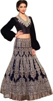 Fabboom Chaniya, Ghagra Cholis - Fabboom Embroidered Women's Lehenga Choli(Stitched)