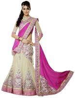 Creative Fashion Chaniya, Ghagra Cholis - Creative Fashion Embroidered Women's Ghagra, Choli, Dupatta Set(Stitched)