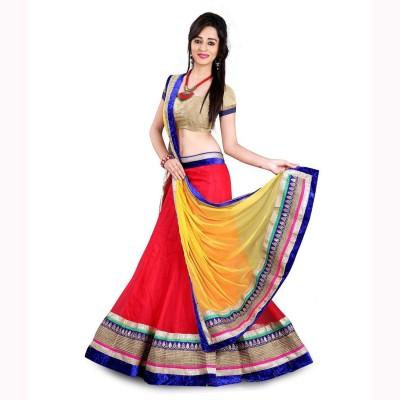 Ecom Exports Embriodered Fashion Chiffon Sari