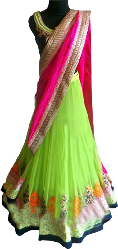 Khantil Embroidered Women's Lehenga Choli(Stitched)