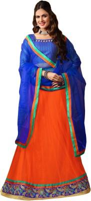 7 Colors Lifestyle Embroidered Women,s Lehenga, Choli and Dupatta Set