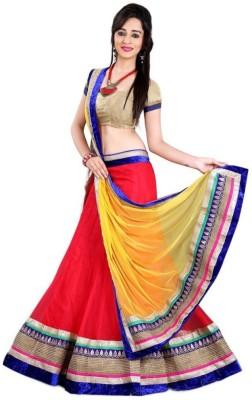 HSFS Self Design Women's Lehenga, Choli and Dupatta Set