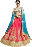 Ganga Fashion Self Design Women's Leheng...