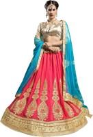 Ganga Fashion Chaniya, Ghagra Cholis - Ganga Fashion Self Design Women's Lehenga, Choli and Dupatta Set(Stitched)