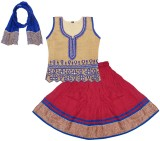 BownBee Girls Lehenga Choli Ethnic Wear ...