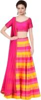 Ribeka Style Chaniya, Ghagra Cholis - Ribeka Style Printed Women's Ghagra Choli(Stitched)