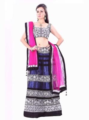 EthnicPark Self Design Women's Lehenga Choli