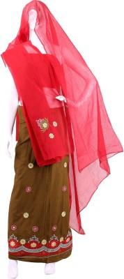 Smart Retail Self Design Women's Lehenga Choli