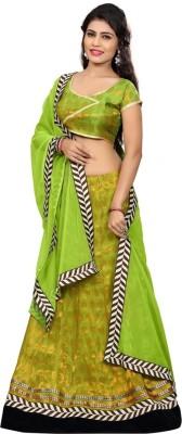 Namo House Printed Women's Lehenga, Choli and Dupatta Set