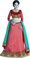 Viva N Diva Chaniya, Ghagra Cholis - Viva N Diva Embroidered Women's Lehenga, Choli and Dupatta Set(Stitched)
