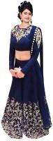 Khodal Fashion Chaniya, Ghagra Cholis - Khodal Fashion Embroidered Women's Lehenga, Choli and Dupatta Set(Stitched)