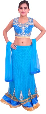 Krazzy Collection Solid, Self Design Women's Lehenga Choli