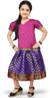 Pratamika Embellished Girl's Lehenga Choli