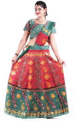 RTD Printed Women's Lehenga, Choli and Dupatta Set