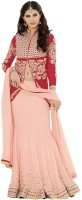 Desi Look Chaniya, Ghagra Cholis - Desi Look Self Design Women's Lehenga, Choli and Dupatta Set(Stitched)