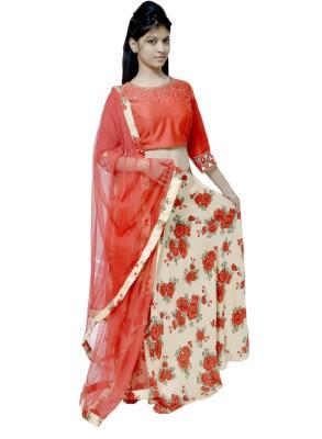 Umrao Boutique Embroidered Women's Lehenga, Choli and Dupatta Set
