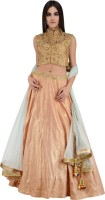 Pallsheen Chaniya, Ghagra Cholis - Pallsheen Self Design Women's Lehenga, Choli and Dupatta Set(Stitched)