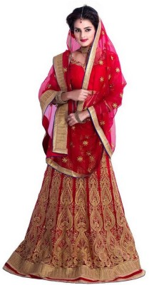 Nirja Enterprise Embroidered Women's Lehenga Choli