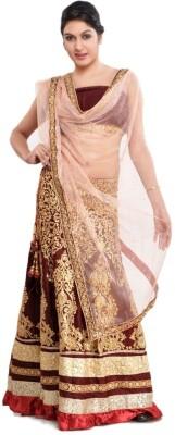 Lime Fashion Self Design Women's Lehenga, Choli and Dupatta Set