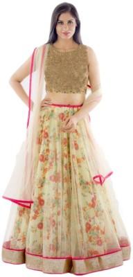 HITESH ENTERPRISE Floral Print Women's Lehenga, Choli and Dupatta Set
