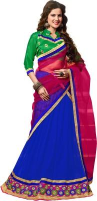 7 Colors Lifestyle Embroidered Women's Lehenga, Choli and Dupatta Set