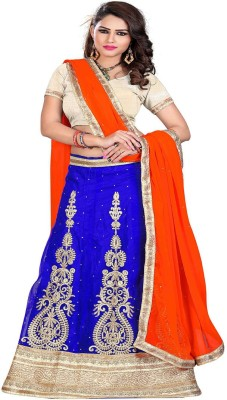 ARAJA Embroidered Women's Lehenga, Choli and Dupatta Set