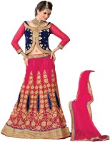 Aasvaa Chaniya, Ghagra Cholis - Aasvaa Embroidered Women's Lehenga, Choli and Dupatta Set(Stitched)