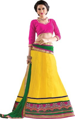 V-Karan Embroidered Women's Lehenga, Choli and Dupatta Set