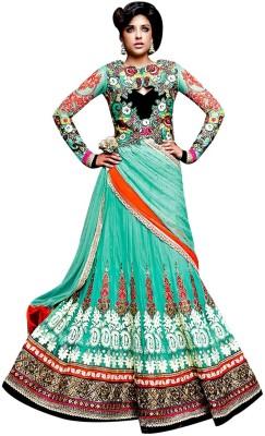 Vogue4all Embroidered Women,s Lehenga, Choli and Dupatta Set