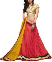 Kanchoo Chaniya, Ghagra Cholis - Kanchoo Self Design Women's Lehenga, Choli and Dupatta Set(Stitched)