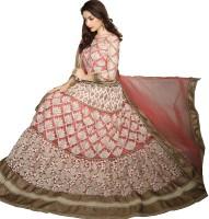 Manvaa Chaniya, Ghagra Cholis - Manvaa Embroidered Women's Lehenga, Choli and Dupatta Set(Stitched)
