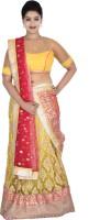 Tishitas Chaniya, Ghagra Cholis - TISHITAS Solid Women's Ghagra, Choli, Dupatta Set(Stitched)