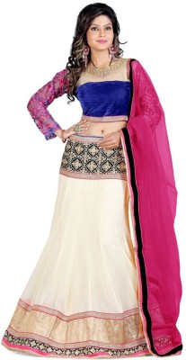 Edeal Online Embroidered Women,s Lehenga, Choli and Dupatta Set